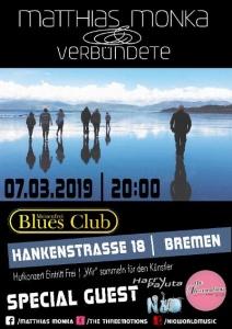 Matthias Monka & Verbündete im Meisenfrei @ Meisenfrei Blues Club